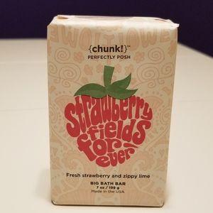 NIP Perfectly Posh Strawberry Fields Forever Chunk